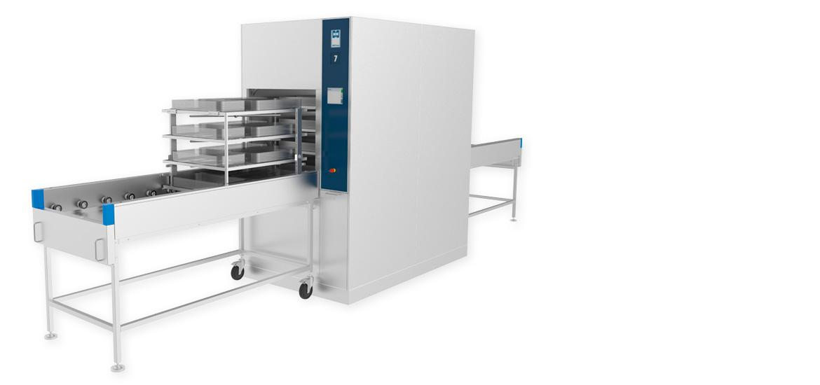 MMM Group Uniclean PL II 30 washer disinfector for instrument cleaning reprocessing with tandem chamber large volumes